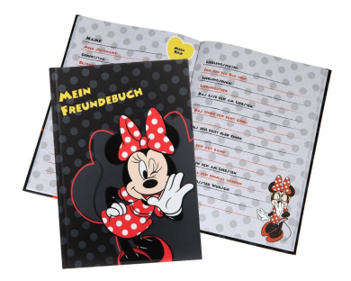 Undercover MIPS0960 - Friendship book A5 Disney Minnie Mouse