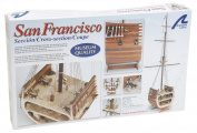 Artesania Latina 20403 - SAN FRANCISCO, Cross Section Water Vehicles