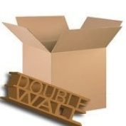 """5 x Large Double Wall Cardboard Removal Boxes 18x 30cm x 12"""""""