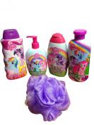My Little Pony Bath & Body Bundle -5 Items with Bonus Bath Sponge