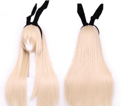 Xcoser Costumes Kantai Collection Cosplay Kancolle Shimakaze Wig Long Party Hair