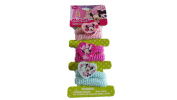 MInnie mouse hair ponies 6 piece