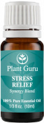 Stress Relief Synergy Blend Essential Oil. 10 ml. 100% Pure, Undiluted, Therapeutic Grade.