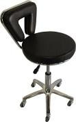 Black Stool Equipment Medical Chair Facial Beauty Salon Spa Tattoo