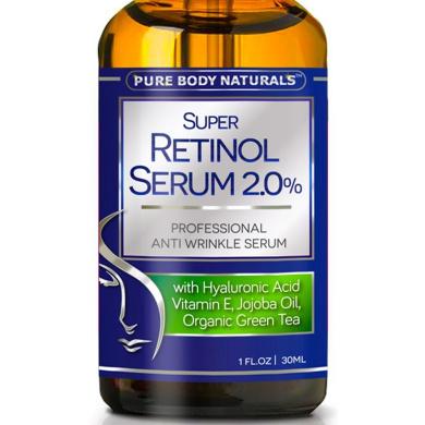Retinol Serum - Best Anti Ageing Serum, Heal Skin, Minimise Wrinkles, & Activate Collagen Production - Retinol Face Serum for Anti Ageing Skin Care - Hyaluronic Acid, Vitamin E, Organic Ingredients 30ml