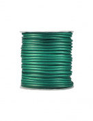 FreshHear Pack of 1 for 40m Korea Waxed Cotton Cord Colour Emerald Green Size 3x3mm