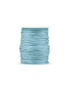 FreshHear Pack of 1 for 80m Waxed Cotton Cord Colour Powder Blue Size 1.5x1.5mm