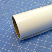30cm x 3m Roll of Glossy Oracal 651 Matte White Vinyl for Craft Cutters and Vinyl Sign Cutters