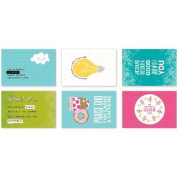 Illustrated Faith Basics Blessings By Mail Postcards-Friendship