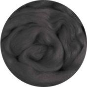 Merino Wool Roving for Felting - 30ml Charcoal