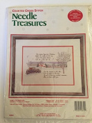 Needle Treasures Counted Cross Stitch, Home for Christmas