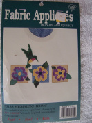 Humming Along Fabric Appliques Iron-On Kit