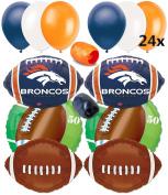 Denver Broncos NFL Football Super Bowl Balloons Decorating Ultimate 32pc