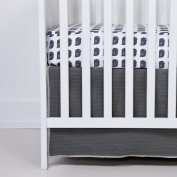 Flink Organic Crib Skirt - Slate