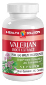 Pure Valerian Root - Valerian Root Extract 4:1 125 mg - Mood Booster 1 Bottle 100 Capsules