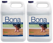 Bona New Value Size Package Hardwood Floor Cleaner Refill, 7570mls by Bona