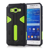 Galaxy Grand Prime G530 Case, ARSUE (TM) Rugged Hybrid Dual Layer armour GEAR [Shock Absorption & Dust Resistant] [Premium Rugged] Protective Case for Galaxy Grand Prime G530