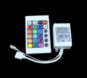 KPBOTL LED RGB 24K RGB LED Controller with 24 Key Wireless led IR Remote RGB LED Strip Light