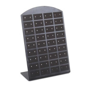 ZHUOTOP 1pc Organiser Earrings Display Showcase Stand can hold 36 pair rings convenient beautiful