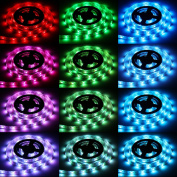 Sunsbell ® Led Strip Lights Battery Powered Waterproof LED Light Strips SMD 5050 LED Ribbon Light With Control Box