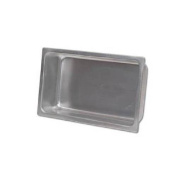 Royal Industries Stainless Steel Spillage Pan 30cm x 50cm Silver