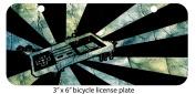 Retro Gamer Mini 7.6cm x 15cm Aluminium Licence Plate