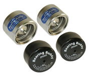 Bearing Buddy® Chrome Bearing Protectors (2.328) With Bras - Pair