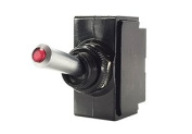 Toggle Switch ON/OFF, SPST, Lighted