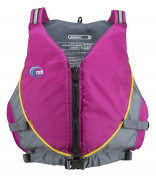 MTI Adventurewear Women's Journey Life Jacket, Small/Medium, Berry/Grey