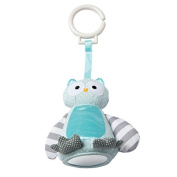 Manhattan Toy Baby Bell Chime Owl Travel Toy