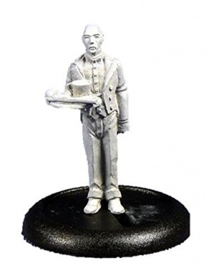 28mm Sci-Fi: Butler with Plate (1)