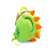 Gift For Boys and Girls-Cute Dinosaur Big Mouth Kids Toddler Backpack School Hiking Sidesick Nursery Bags,9.3*5.5*30cm