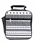 Superior Quality Fashion Insulate Lunch Bag CC17 Greek Key