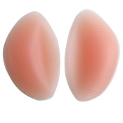 Antspirit Silicone Moulding Insert Bra Expanded Breast Chest Pad gel Push-up Chicken Cutlets Fake Boobs Cup upgrade style