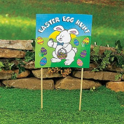 Easter Egg Hunt Yard Sign - Easter & Party Decorations