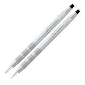 Cross Classic Century Satin Chrome Pen/Pencil Set (AT0081S-14) by Cross