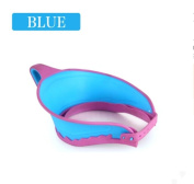 Baby shampoo cap children baby shampoo cap bath hat shower cap can be adjusted to increase the waterproof cap thicker