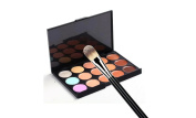 luckmaihere Store Concealer & Multi-Function Round Shape Head Powder Brush