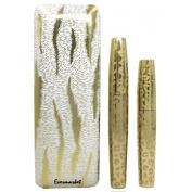 Evermarket Pack of 2 Black Fibre Leopard Long Curling Eye Lashes Mascara Eyelash Mascara Set with Highest Quality Natural & Non-Toxic Hypoallergenic Ingredients