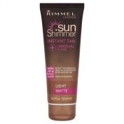 Sunshimmer Instant Tan + Gradual Glow Matte - Light Matte