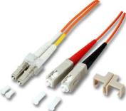 Network Cable - SC Single Mode (M)LC-Monomode - (M)- 1 M - Fibre Optic - Free of Halogen