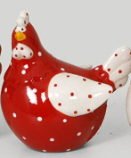 FRENCH DECORATIVE CERAMIC CHICKEN GIFT IDEA MEDIUM SIZE CHICKENS COLLECTION 2
