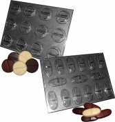 CHOCOLATE CHILL PILL MOULDS TABLETS AND CAPSULES 2 moulds