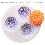 YL Flower Ball Y154 Silicone Soap mould Craft Moulds DIY Handmade soap mould