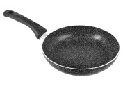 Home Stone Frying Pan with Nonstick Coating, Stone, Charcoal /Grey, 24 cm