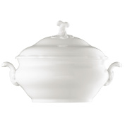 Hutschenreuther Maria Theresa 02013-800001-11020 Terrine 2-Piece Set (Base and Lid) 3.5 L White