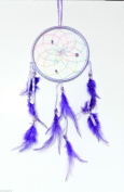 Indian Style Dream Catcher Room Decoration Ideal for Child Children Bedroom Purple