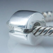 Soulbeads Clip Lock Charm Authentic 925 Sterling Silver Bead Fit Pandora Charms