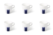 6 X Lavazza Coffee/Cappuccino/Latte Mugs-Capacity 300ml