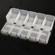 Tenflyer Japan Nigiri Sushi Mould Rice Ball 5 Rolls Maker Non Stick Press Bento Tool